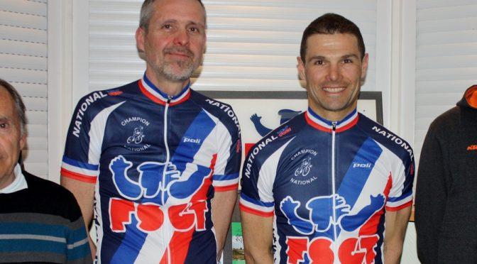 Remise de récompenses aux champions nationaux cyclocross