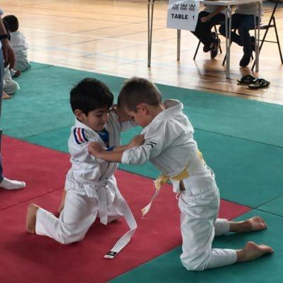 Nos  judokas